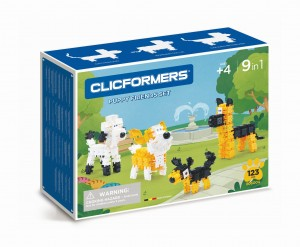 KLOCKI CLICS CLICFORMERS PET FRIENDS SET