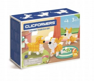 KLOCKI CLICS CLICFORMERS YELLOW&WHITE FRIENDS